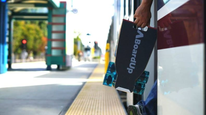 BoardUp Portable Mini Longboard