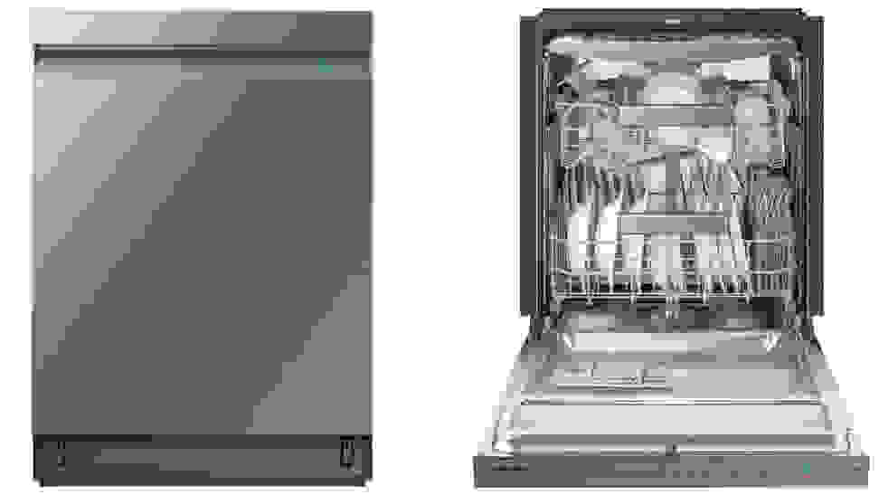 The Samsung DW80R9950UT/AA dishwasher has good cleaning power, great features, and a great, sleek look.