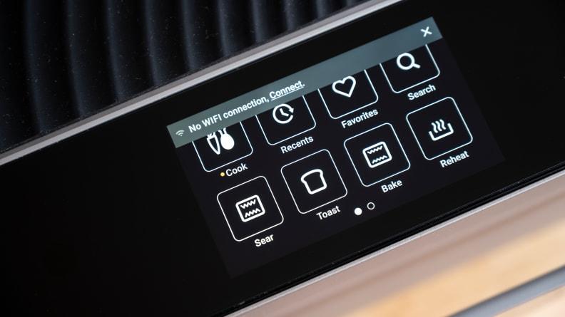 Brava Oven - Control Panel