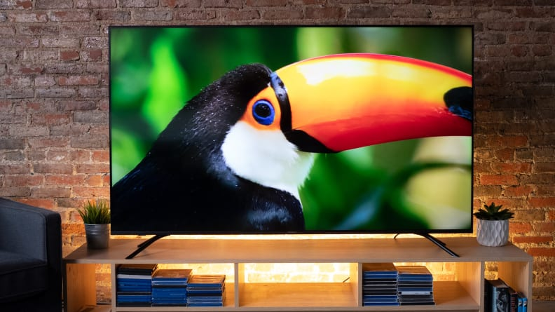 Hisense H8F with 4K Content 2