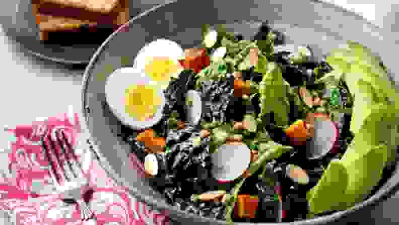 A kale salad