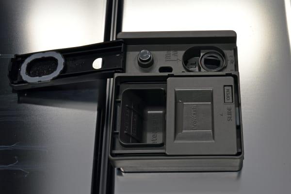 Kenmore Elite 14743 detergent and rinse aid dispenser