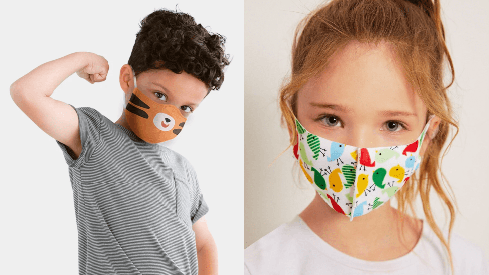 27 great face masks kids will actually want to wear