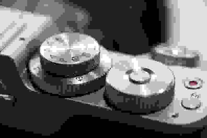 Panasonic GX8 Dials