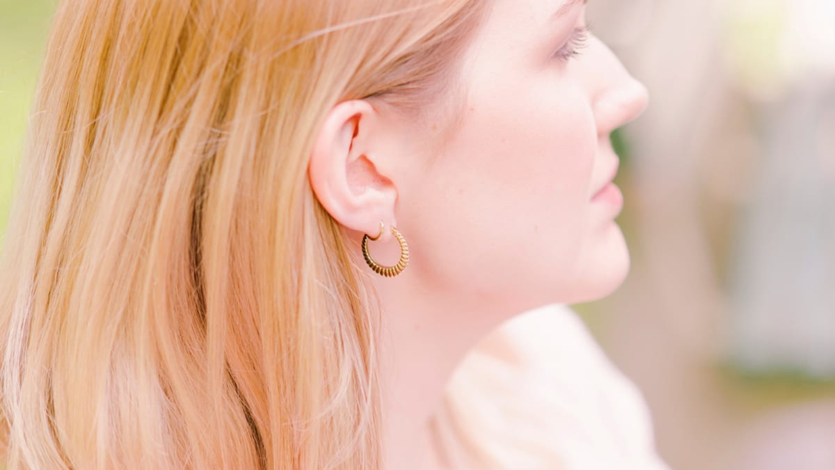 Oversize 1 Pair ear stud earring Metal with 925 Silver Photo Travel Party Fashion Large Simple Earrings Video Super High Quality