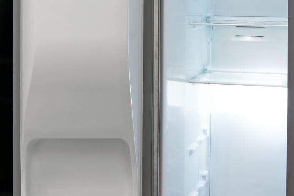 The Kenmore 51783's freezer actually has more adjustable shelf racks than the fridge.