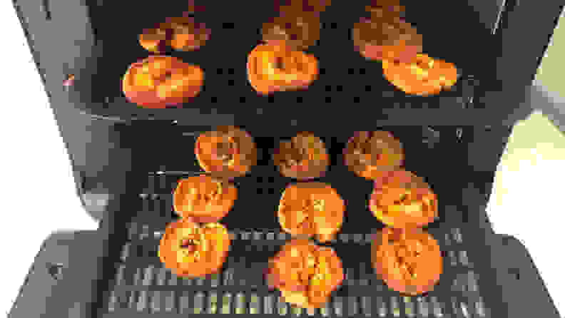 Instant Pot Vortex - dehydrating apricots