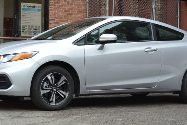 The 2014 Honda Civic Coupe has a refreshed exterior.