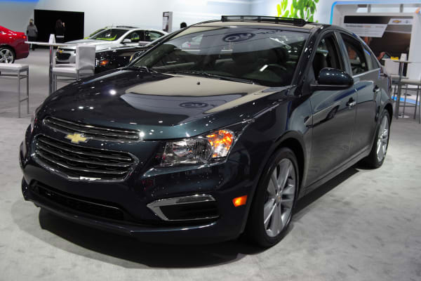 2015 Chevrolet Cruze front refresh