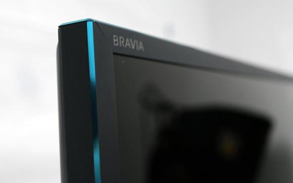 The blue strip along the W900A's bezels is a unique touch.