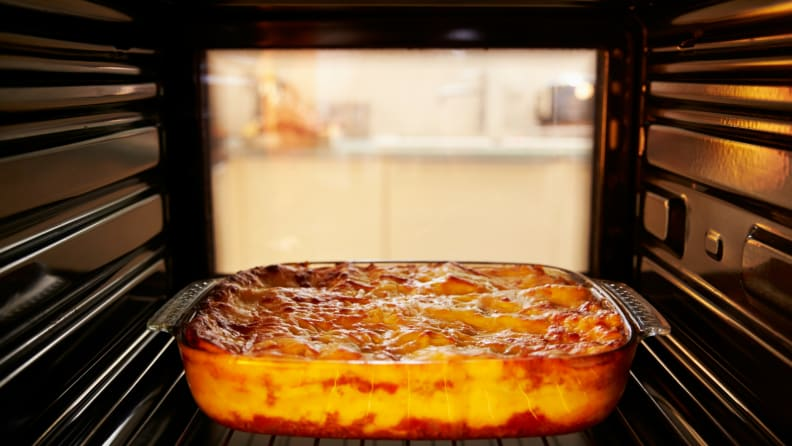 How to preheat your oven - casserole
