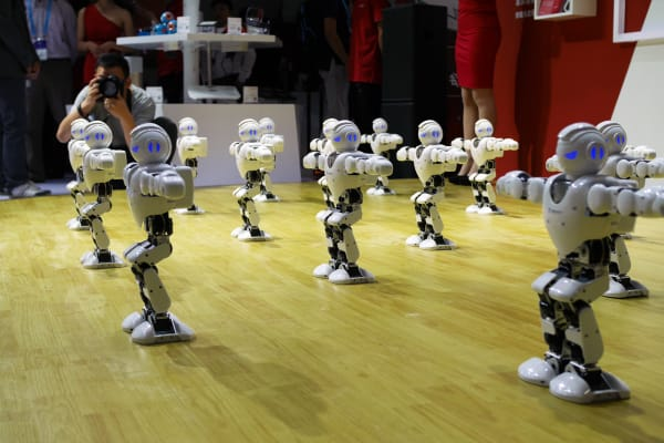 CES Asia 2016 robots on parade