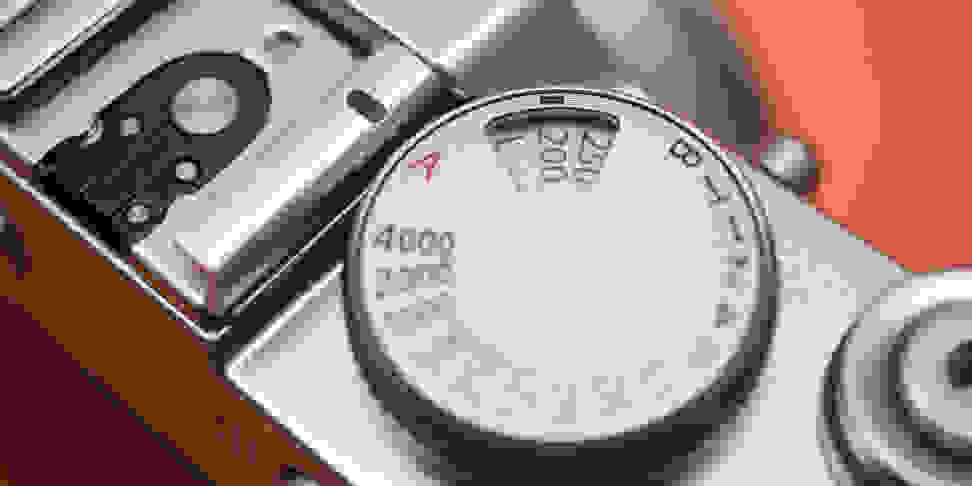 Fujifilm X100F ISO Shutter speed