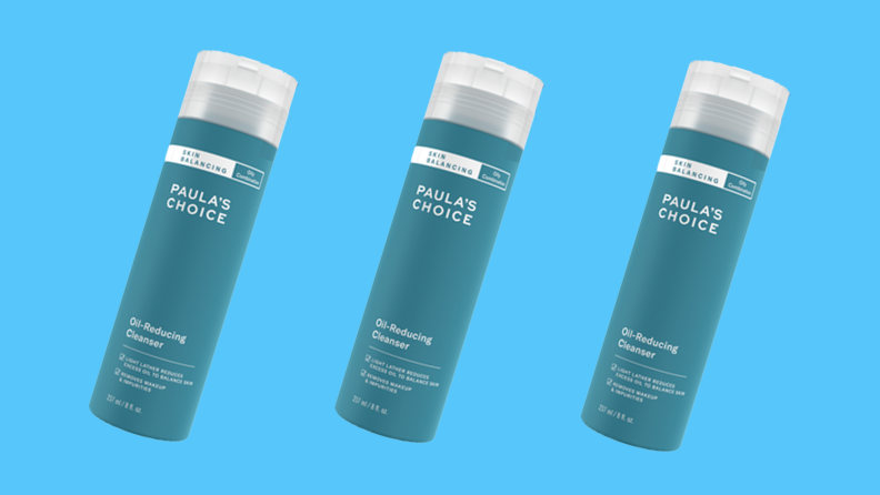 Oil reducing cleanser