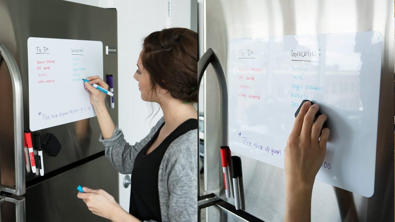 Image result for roommate cleaning schedule on fridge dry erase