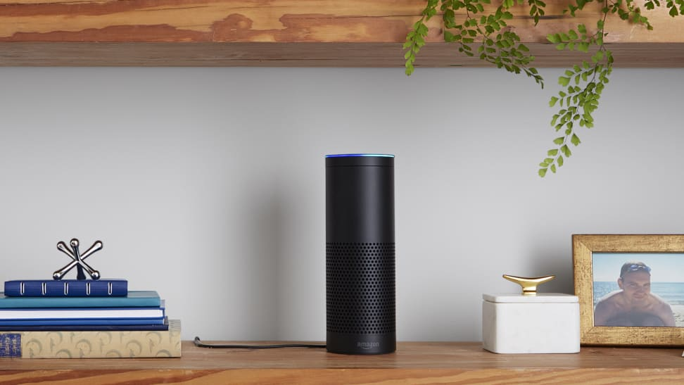 With the Amazon Echo you'll be able to control your speakers across multiple rooms in your home.