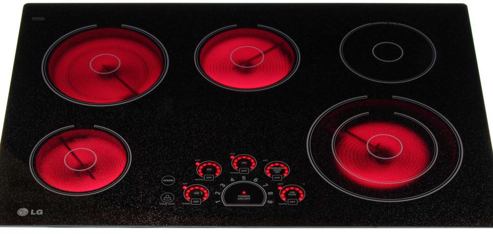 LG LCE3010SB Burners