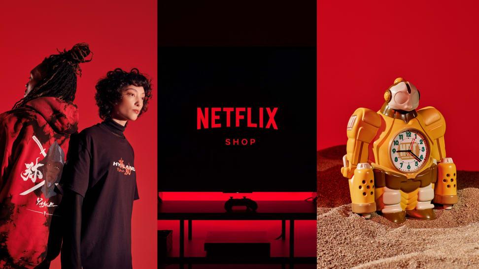 Netflix merch launch