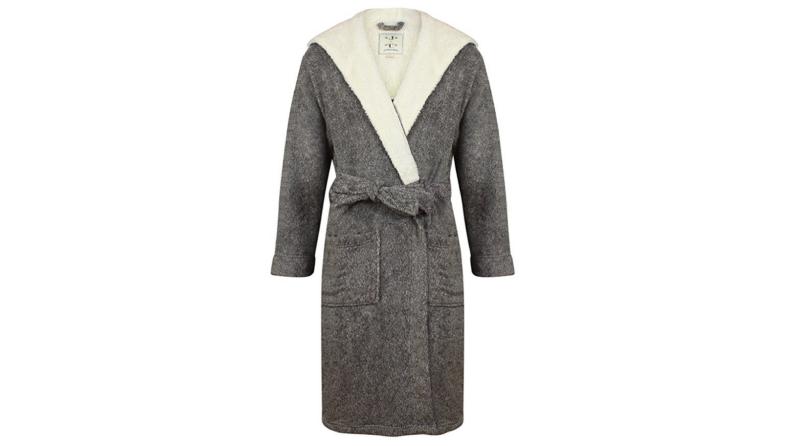 Hooded Fleece Robe