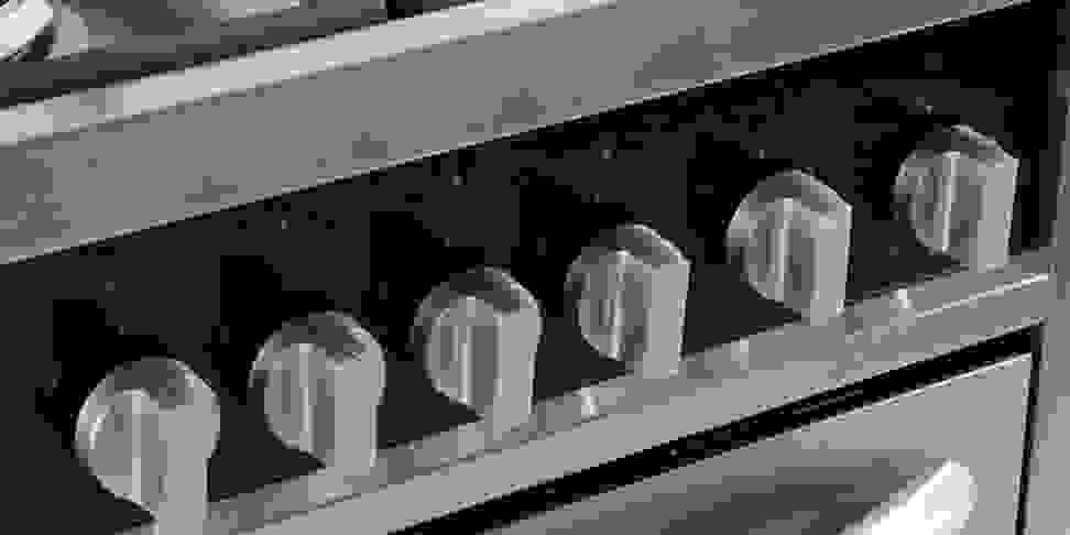Haier HCR2250ADS rangetop controls