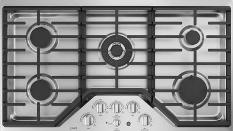 GE Café gas cooktop