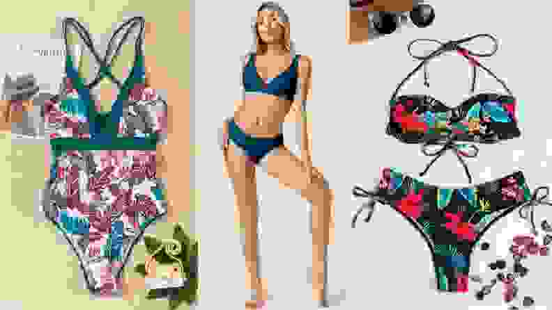 Three more Shein swimsuits