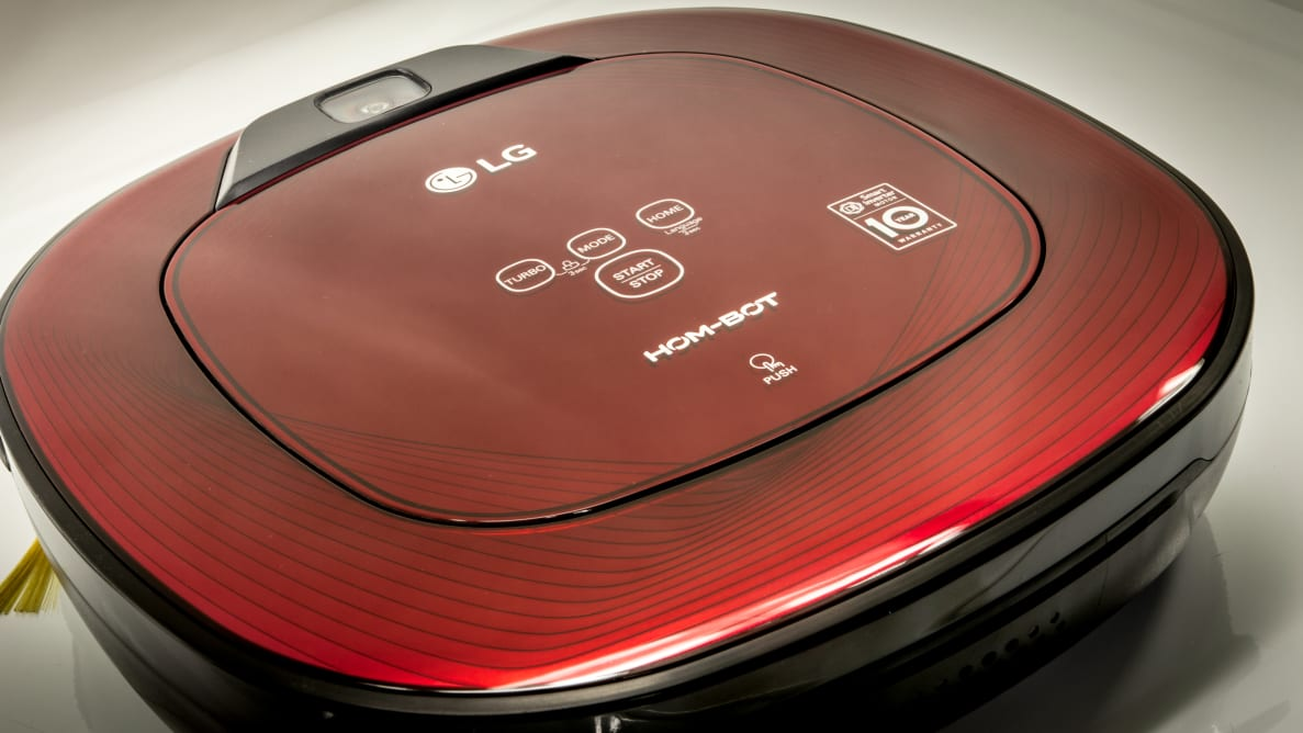 The LG Hom-Bot excels at being beautiful.