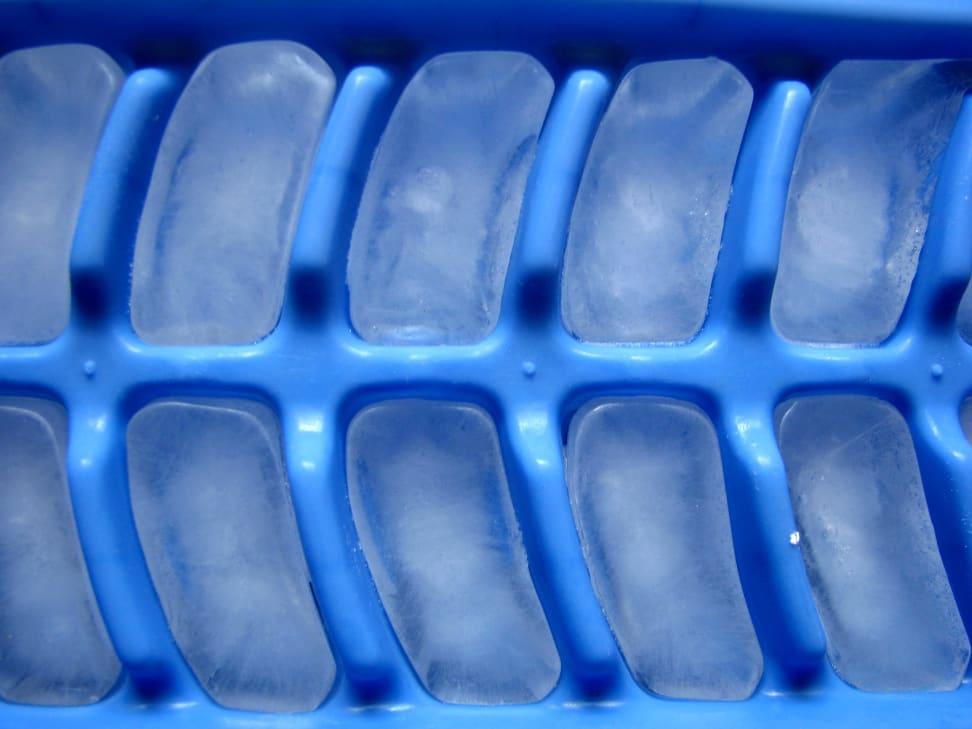 an ice cube tray