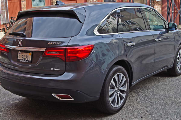 2014 Acura MDX rear view.