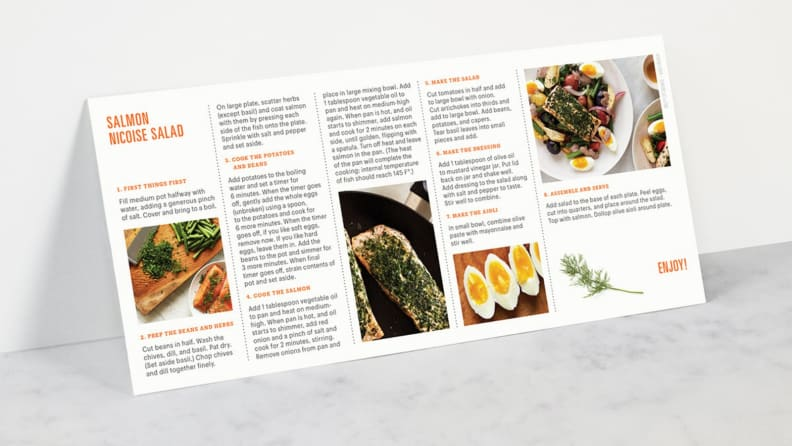 Amazon Meal Kit Card