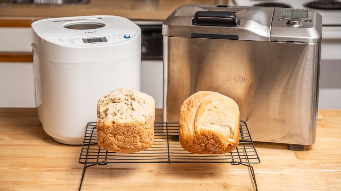 Breville Custom Loaf and Oster Expressbake bread machines