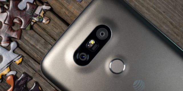 LG G5 Twin Cameras