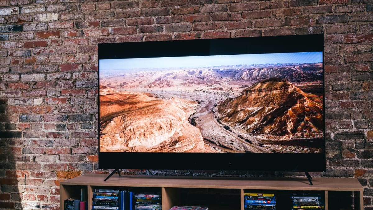 This Vizio TV is one of the brightest we've ever seen