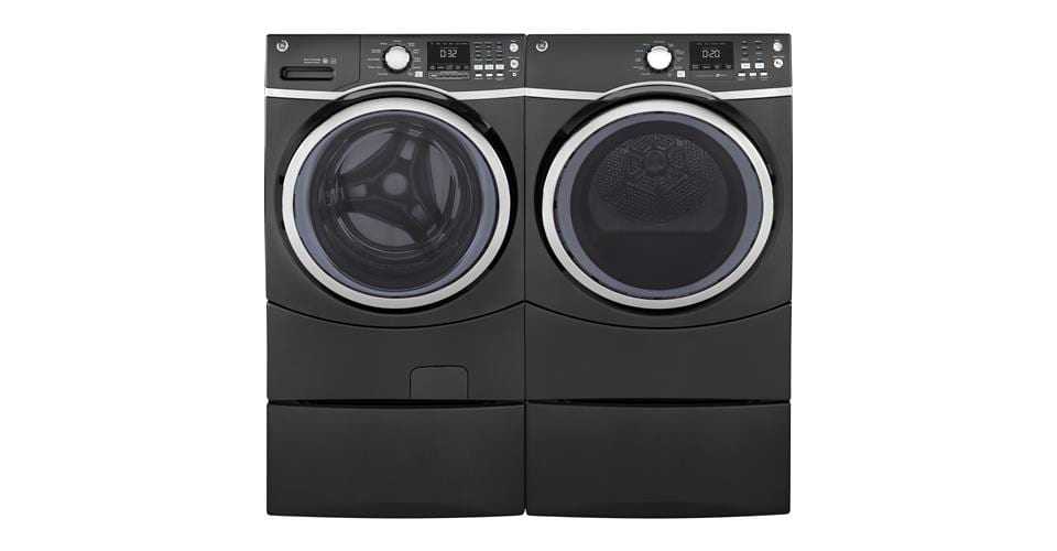 GE GFW450SPKDG-washer-and-companion-dryer