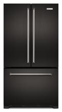 KitchenAid's Black Stainless KBFN502EBS French-door Refrigerator