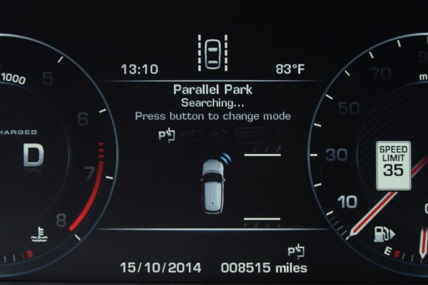 2014 range rover auto parallel park