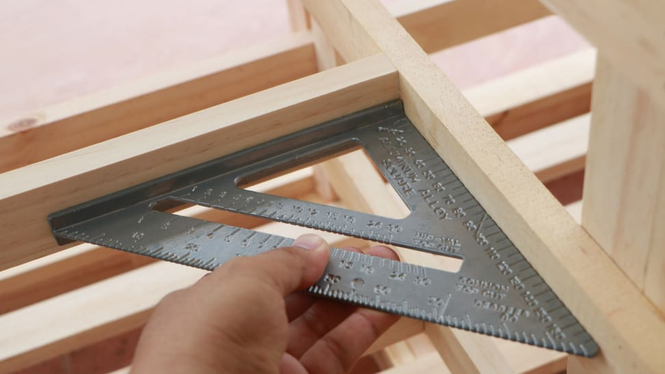 Speed square is a useful tool when working with wood