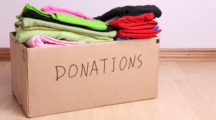 Image result for donating clothes