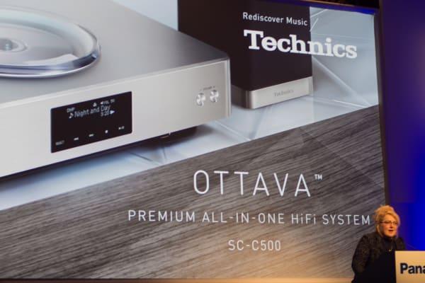 The Ottava is Panasonic's high-end Hi-Fi system that can handle vinyl.