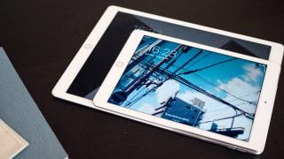 An iPad on a table
