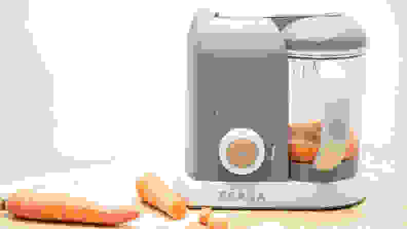 The Beaba Babycook 4-in-1 produces great baby food from start to finish.