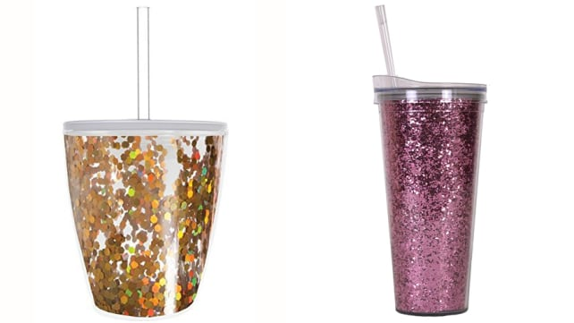 Slant Collections Glitter Travel Cups