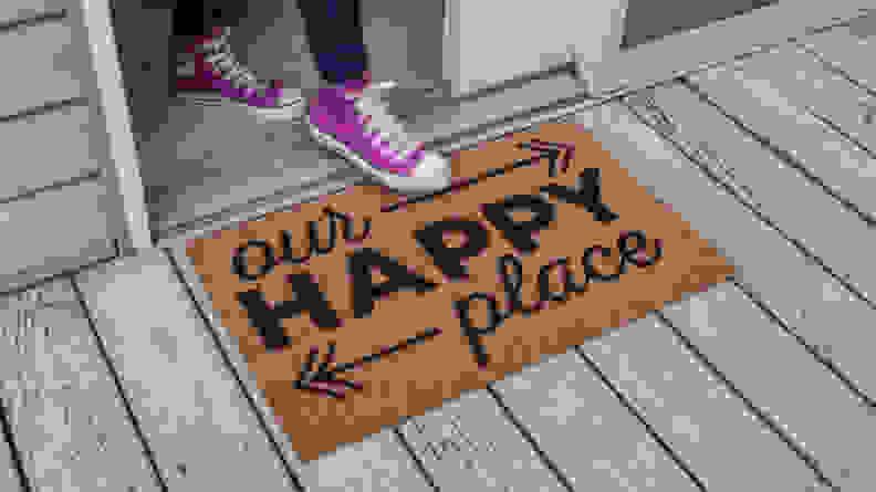Entryways Happy Place Doormat