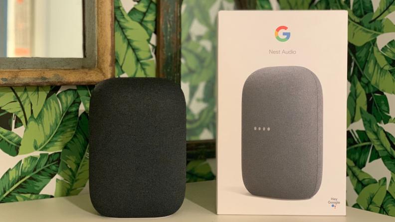Nest Audio with box
