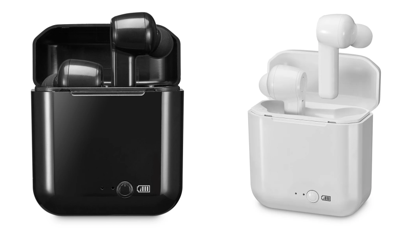 Two sets of wireless earbuds