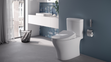 Toto features the Washlet+ and Wellness Toilet at CES 2021