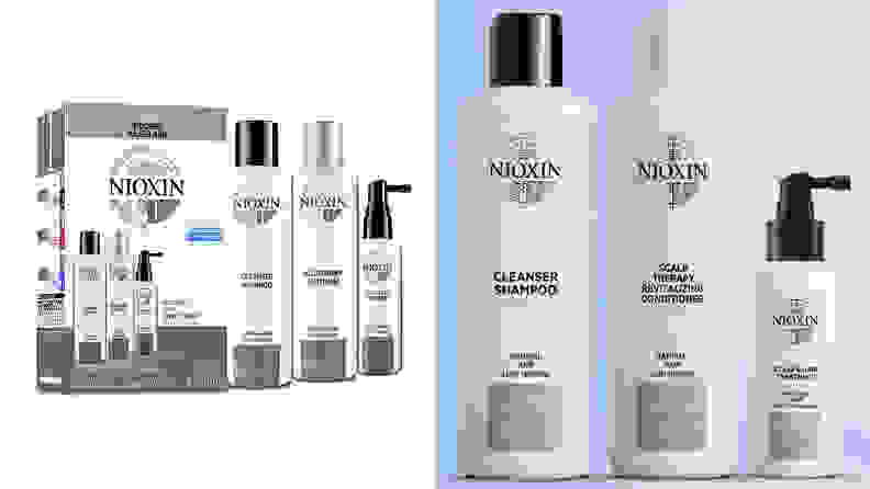The Nioxin System Hair Care Kit.