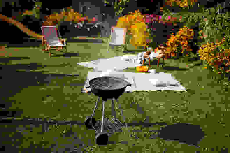 Backyard barbecue