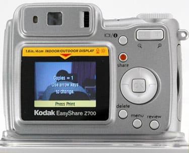 Kodak EasyShare Z700 Digital Camera Review - Reviewed Cameras