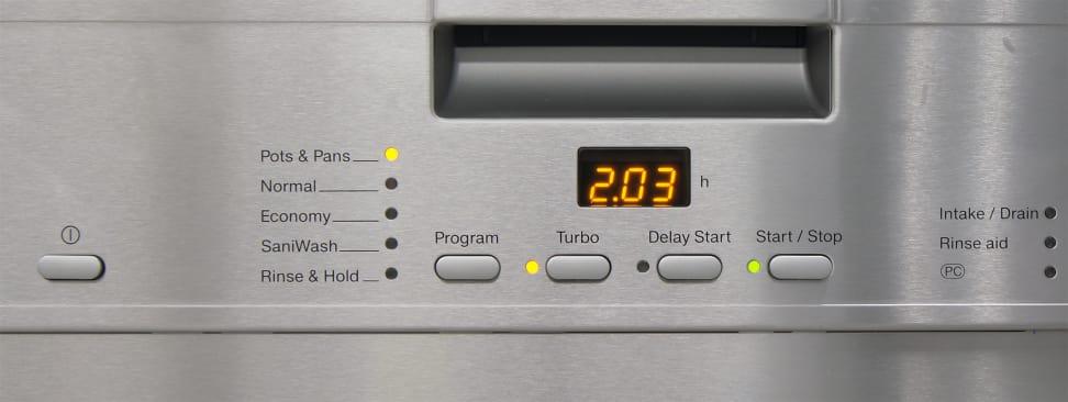 Miele G4225SCU—Controls